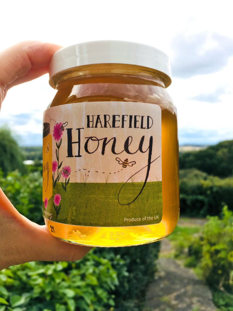 Honey label & jar